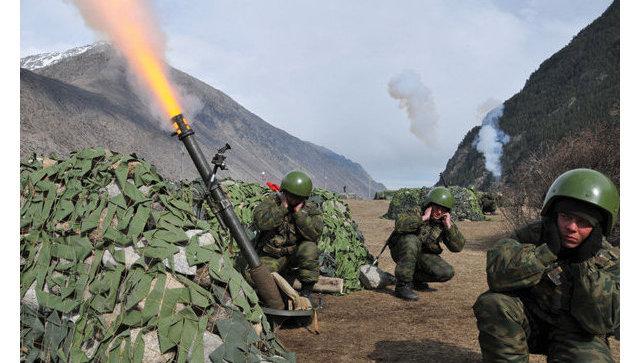 Артиллеристы ЦВО «уничтожили» колонну джихад-мобилей вТаджикистане