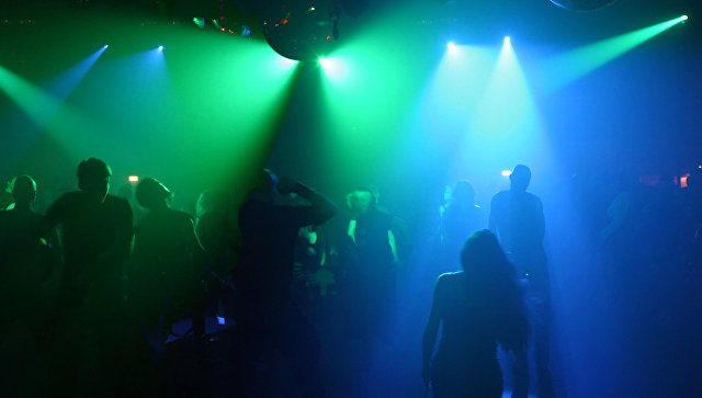 Ночной клуб. Архивное фото