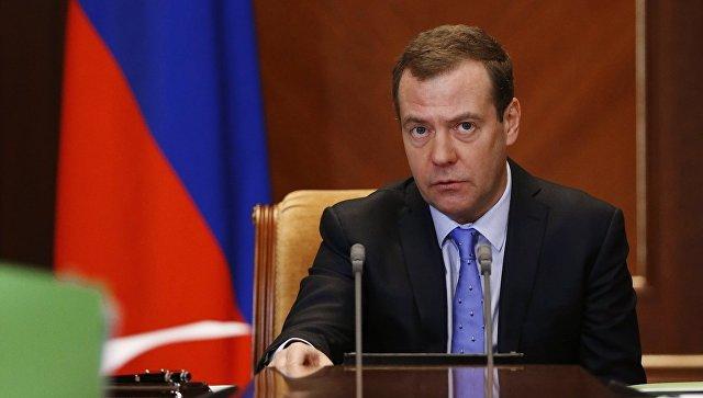 Медведев объявил осохранении негативных тенденций в русской экономике