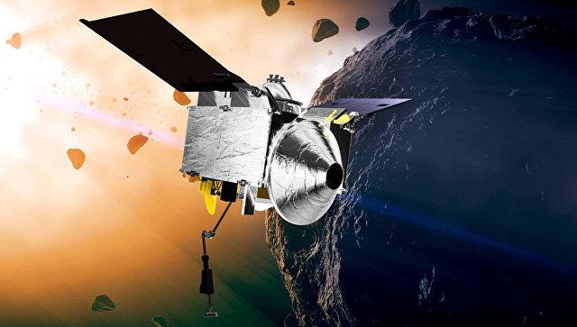 Американский зонд OSIRIS-REx