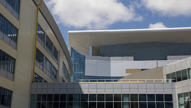 Здание Дальневосточного федерального университета. Архивное фото