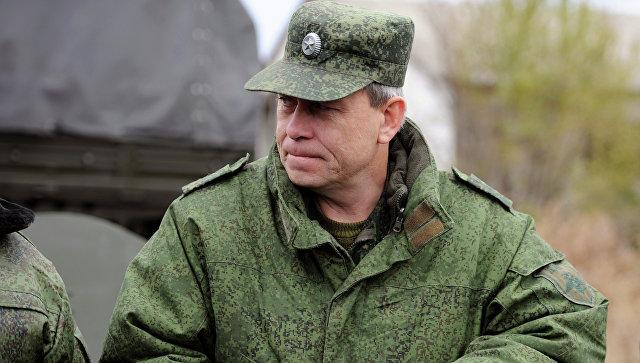 Заместитель командующего штабом ополчения ДНР Эдуард Басурин. Архивное фото