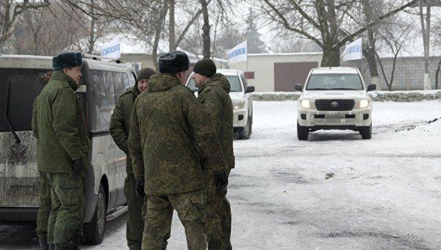 Замглавы миссии ОБСЕ на Украине А. Хуг. Архивное фото