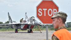 Военный аэродром под Киевом. Архивное фото
