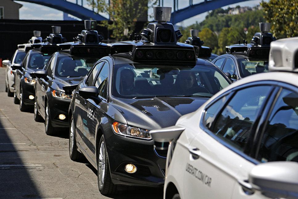 Беспилотные автомобили Uber в Питтсбурге