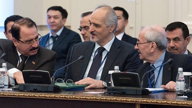 Постоянный представитель Сирии при ООН и глава делегации правительства Сирии Башар аль-Джафари. Архивное фото