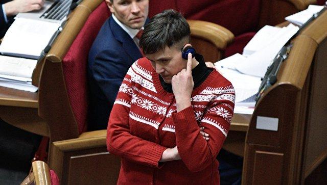 Надежда Савченко: Яотказываюсь отдепутатской неприкосновенности