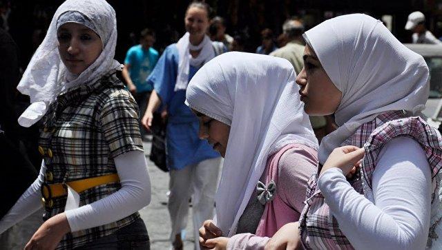 Мусульманские женщины. Архивное фото