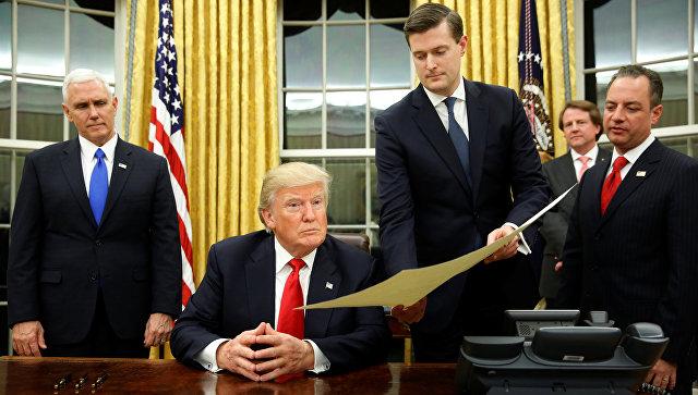 Трамп подписал антииммигрантский указ об«экстремальных проверках»