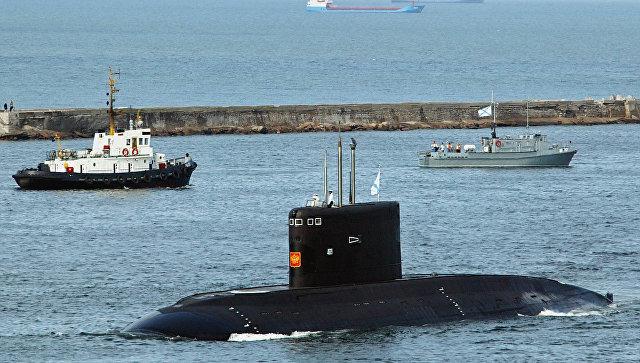 Ситуация на подлодке Алроса не представляет опасности - ВМФ РФ