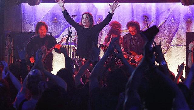 Британская рок-группа Black Sabbath Архивное