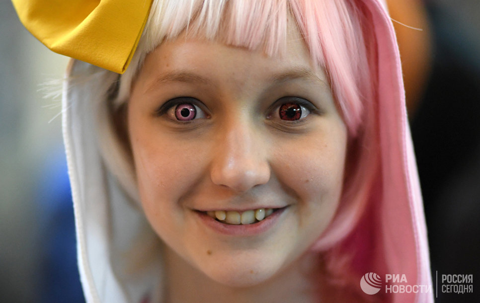 Участница аниме-фестиваля AniMatrix во Дворце культуры и техники МАИ в Москве
