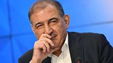 Представитель московской группы сирийской оппозиции, секретарь партии Народная воля, член руководства Фронта за перемены и освобождение Кадри Джамиль. Архивное фото