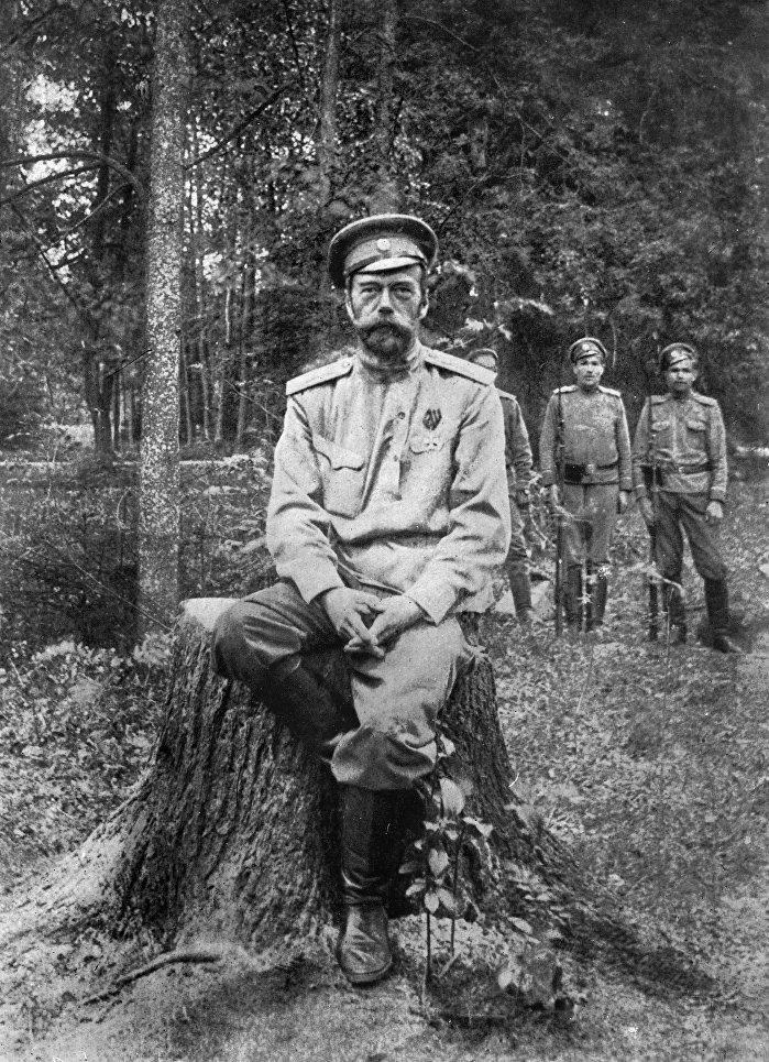 Николай II. 1917 год