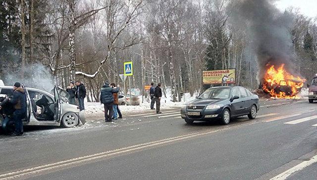 В Новой Москве в ДТП погибли девять человек