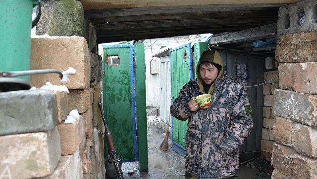Киевские силовики завчерашний день 10 раз обстреляли позиции ЛНР