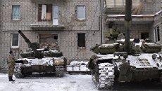 Танки ВСУ в Авдеевке. Архивное фото