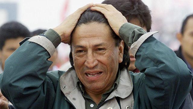 Генпрокуратура провела обыски вдоме экс-президента Перу