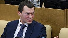 Михаил Дегтярев на пленарном заседании Государственной Думы РФ. Архивное фото