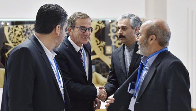 ВАстане началось совещание поСирии российско-турецко-иранской группы