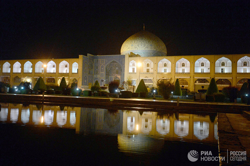 Мечеть Имама в городе Исфахан в Иране