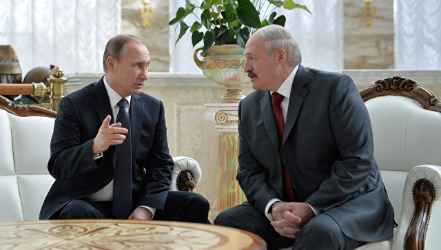 Лукашенко боится ехать навстречу сПутиным?