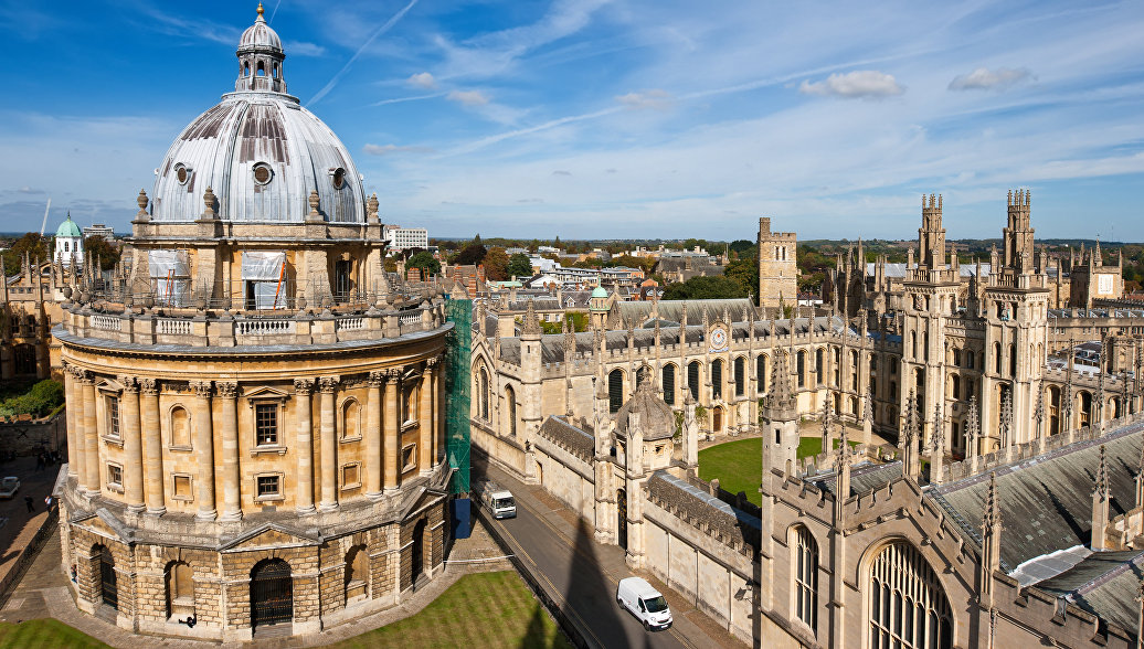 a story on the campus of jordan college in oxford england