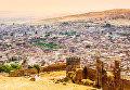 Фес с высоты птичьего полета, Марокко