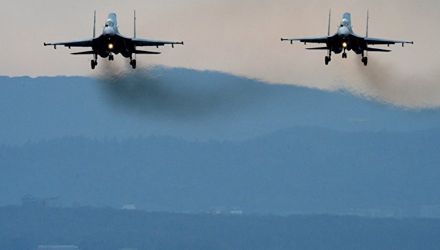 Истребители Су-27СМ. Архивное фото