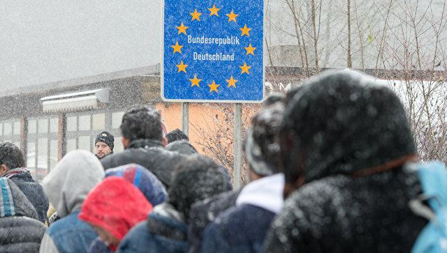 Канцлер Австрии обратится к Брюсселю с просьбой больше не присылать беженцев