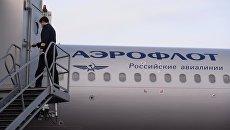 Самолета авиакомпании Аэрофлот. Архивное фото