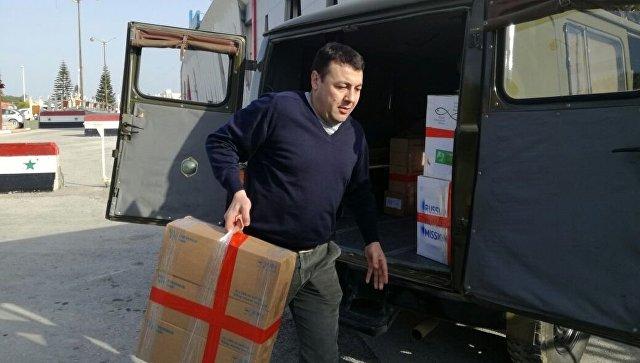 Фонд доктора Лизы доставил 200 килограммов фармацевтических средств для детей вСирии