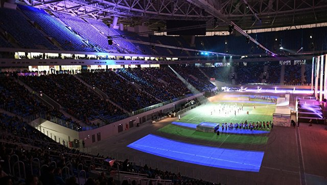 Тестовое мероприятие Первый посетитель на стадионе Крестовский