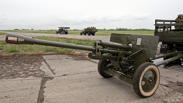 Дивизионная пушка ЗИС-3 (образца 1942 года)