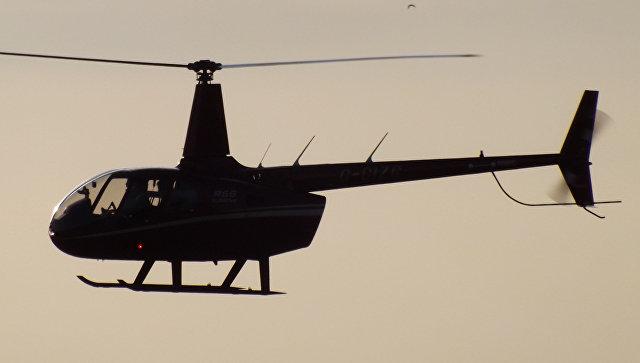 В Краснодарском крае потерпел крушение вертолет