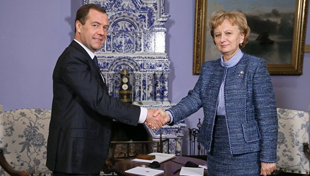 Состоялась встреча Зинаиды Гречаный с Дмитрием Медведевым