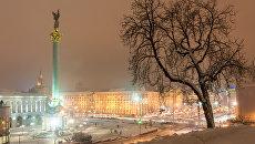 Зимний Киев. Архивное фото