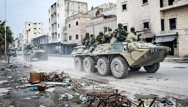 Четверо российских военных погибли в Сирии при подрыве автомобиля