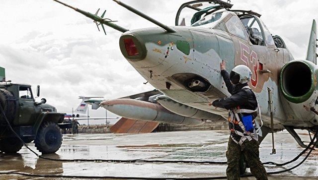 Российские ВКС уничтожили более 120 членов ИГ*, направлявшихся в Пальмиру
