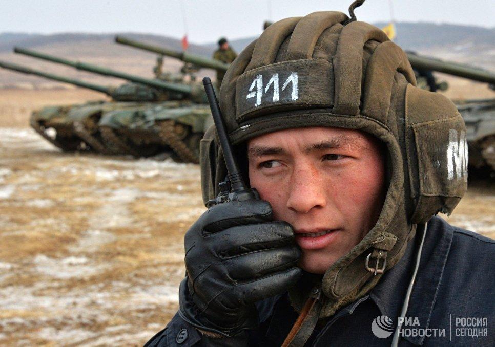 ВВоронежской области закончился региональный этап армейского конкурса «Танковый биатлон»