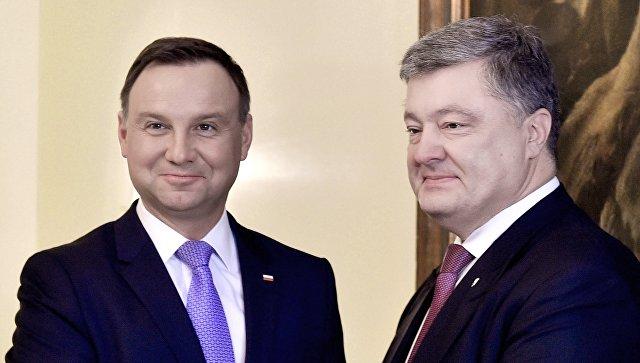 Порошенко призвал Польшу избегать исторических конфликтов— «Назло» Российской Федерации