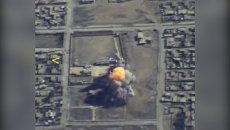 Бомбардировщики Ту-95 применили крылатые ракеты при атаке на командный пункт ИГ