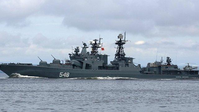 Русский корабль будет плыть воглаве колонны напраздновании 50-летия АСЕАН