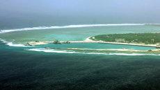 Вид на остров Вуди в Южно-Китайском море. Архивное фото