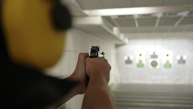 Росгвардия будет вести контрольный отстрел огнестрельного оружия  Стрелковый тир Архивное фото