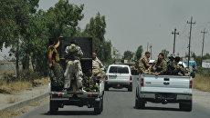 Бойцы курдского ополчения пешмерга. Архивное фото