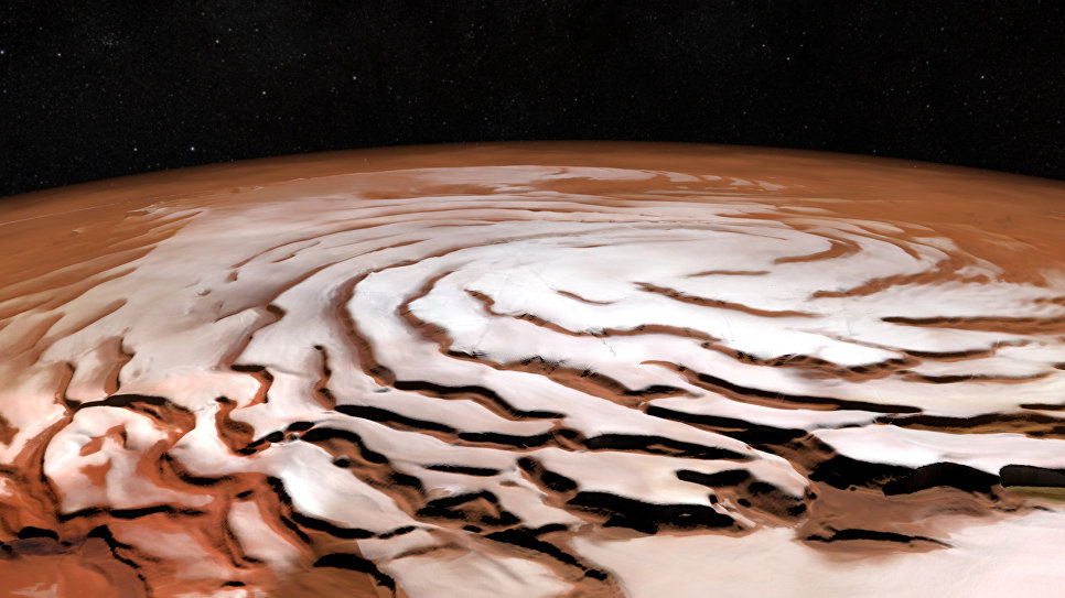 Massive Deposits of Water Ice Found on Mars  Dbrief