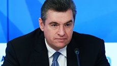 Председатель Комитета Государственной Думы РФ по международным делам Леонид Слуцкий. Архивное фото