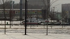 Опубликовано видео с места обрушения тоннеля на Калужском шоссе