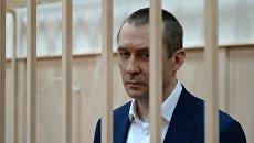 Дмитрий Захарченко в Басманном судом Москвы перед рассмотрением ходатайства следствия о продлении ареста. 2 марта 2017